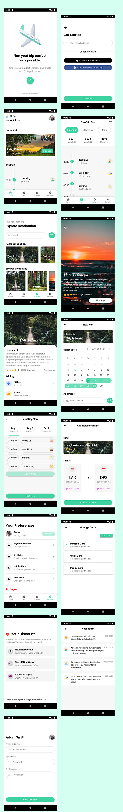 ionic 5 template bundle  / ionic 5 themes bundles / ionic 5 templates with 10+ apps - 12